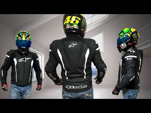 f0f48bd52 Alpinestars Missile Leather Jacket Tech-air Compatible Black White