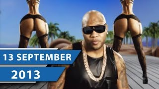 MUSIK CHARTS SEPTEMBER 2013 – Flo Rida, Sean Paul und Icona Pop
