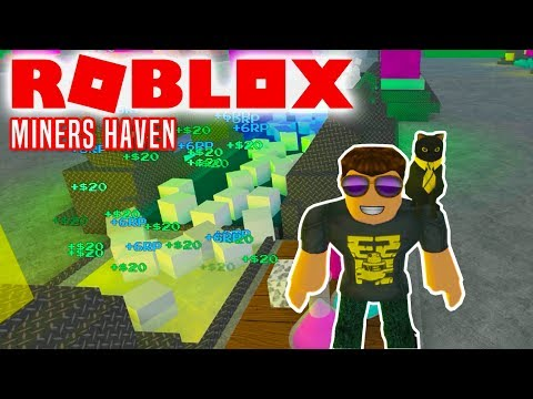 RESEARCH POINTS! - Roblox Miners Haven Dansk Ep 2