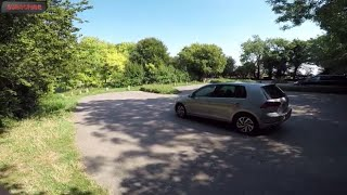 2019 Volkswagen Golf 1.6 TDI POV Test Drive Acceleration Review 0-60 By ORC