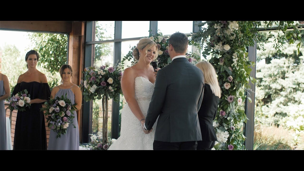 NHL Hockey player marries his high school sweetheart!   Meaghan & Tanner's Whistle Bear Wedding