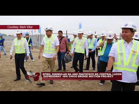DPWH, SINIMULAN NA ANG PAGTATAYO NG CENTRAL LUZON EXPRESSWAY –RIO CHICO BRIDGE SECTION PROJECT
