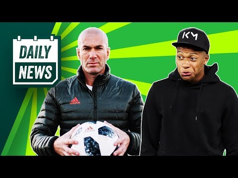 Zidane returns to Real Madrid + Hazard and Mbappé on his transfer list ► Onefootball Daily News