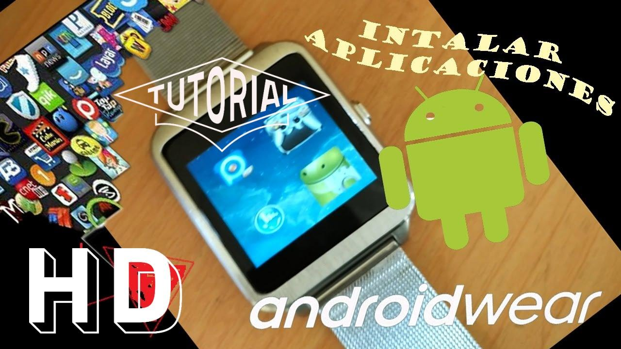 Como Tipo Cualquier Wear De Aplicaciones En Smartwatchreloj Instalar InteligneteCon Android N0wvm8On