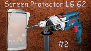 Обзор 2. Посылки из Китая. Защитная пленка ( Screen Protector) для LG G2. Куплены на aliexpress