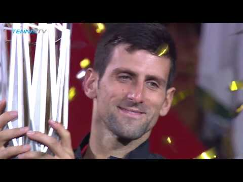 Novak Djokovic reigns in Shanghai | ShanghaiFinal Highlights 2018