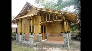 Rumah Bambu Bernuansa Modern