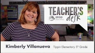 Teacher's Desk Kimberly Villanueva Tippin Elementary