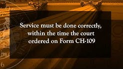 Civil Harassment Chapter 3 - The Restraining Order Process