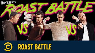 Roast Battle mit Benni Stark vs. Nikita Miller & Tim Becker vs. Archi Clapp