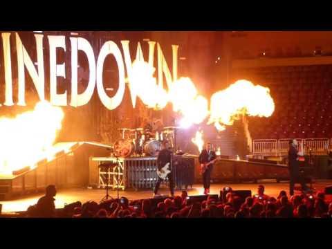 """Adrenaline"" Shinedown@Giant Center Hershey, PA 12/2/16"
