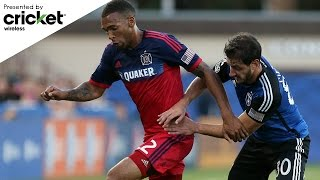 HIGHLIGHTS San Jose Earthquakes 5, Chicago Fire 1