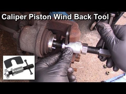 Audi A3 Brake Caliper Piston Removal Barkes Rewind Wind Back Tool