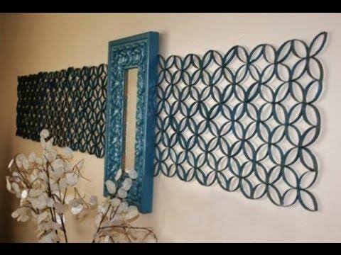 Декор стен своими руками