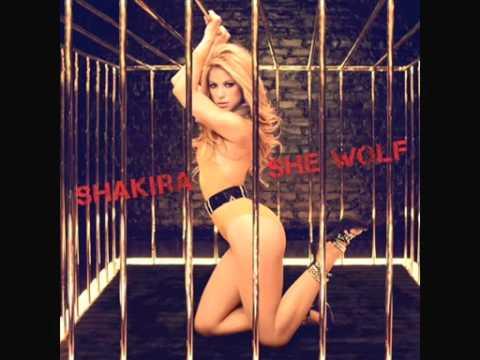 Shakira   She Wolf ( English Version)  2009 With Lyrics + Mp3 Download