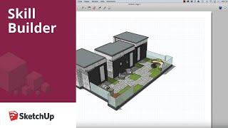 SketchUp-Skill Builder: Tür und Fenster Planen
