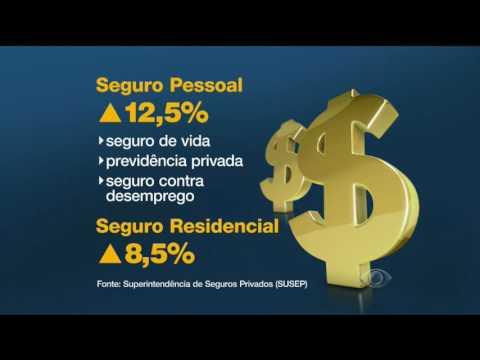 Aumentou o número de adesões de seguros pessoais