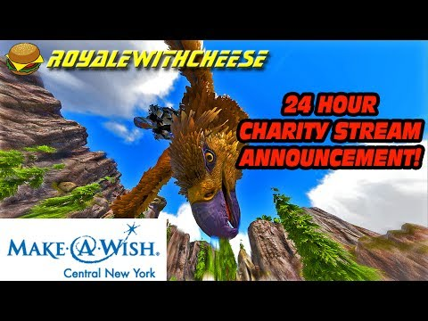 Announcement Of 24 Hour Make-A-Wish Central NY Charity Live Stream!