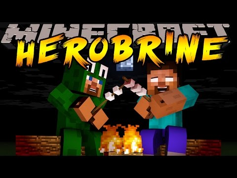 Minecraft - SCARY CAMPING TRIP WITH HEROBRINE
