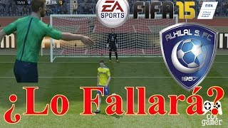 Fifa 15 Ultimate Team   Finalizando temporada contra el Al-Hilal, goleada y penal bien ejecutado 2017 Video
