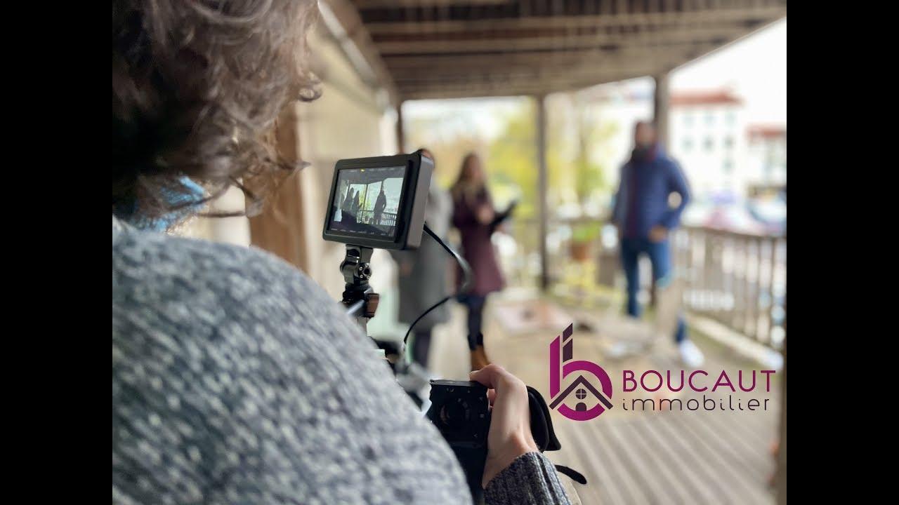 Tournage nouvelle vidéo de l'agence Boucaut Immobilier