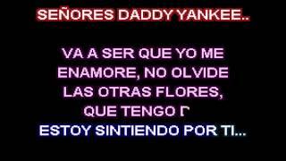 Carlos Vives, Wisin y Daddy Yankee - Nota de Amor (karaoke)