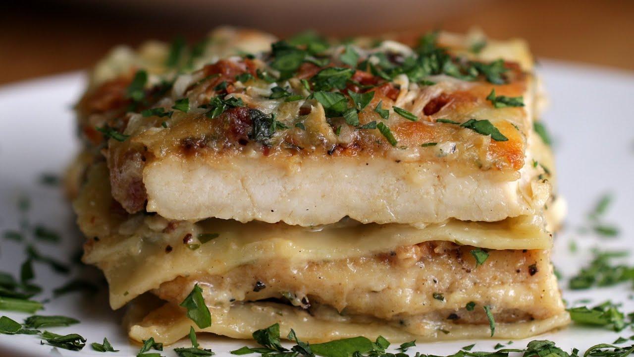 Chicken Alfredo Lasagna | Doovi