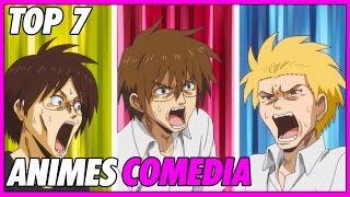Top 7 animes de comedia recomendados