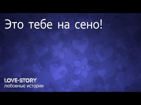 Любовная история в поезде   Это тебе на сено!
