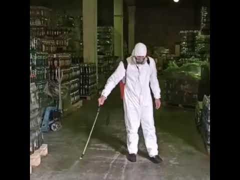 Дезинфекция складов