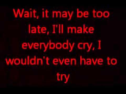 Frank Iero - Weighted (Lyrics)