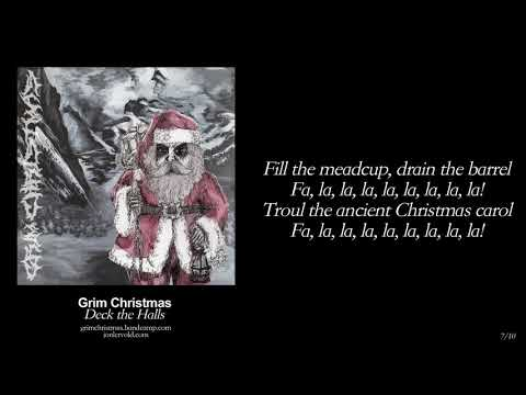 Grim Christmas - Full Album HQ w/ LYRICS - Black Metal Christmas Carols