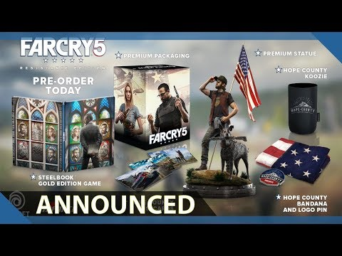Far Cry 5 Resistance Edition Announced ( Update officially cancelled ) as of Jan.30th