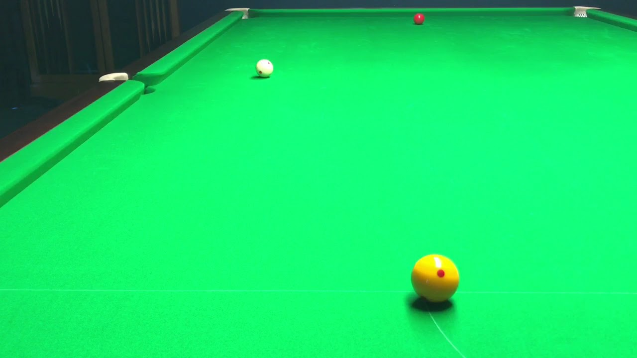 Drop Cannon From Slightly Wide Of Half Ball In Billiards By Rob Hall - Cannon pool table