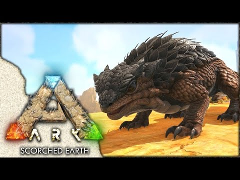 ARK: Scorched Earth ~ Ep 2 ~ THORNY DRAGON TAMING!