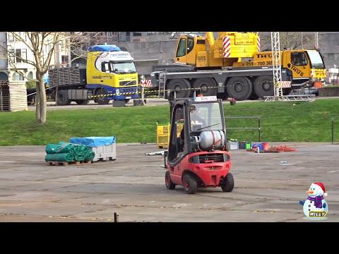 kerstmarkt oostende en schaatspiste in leopoldpark
