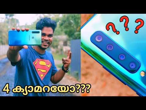 Samsung Galaxy A9 Unboxing & Overview -Malayalam