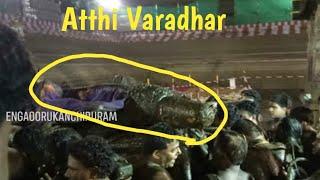 ATHIVARADHAR CAME OUT//அத்தி வரதர் காஞ்சிபுரம் / ATHI VARADHARAJAR PERUMAL TEMPLE KANCHIPURAM