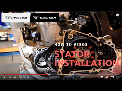 How to Install a Trail Tech Stator Regulator/Rectifier Kit