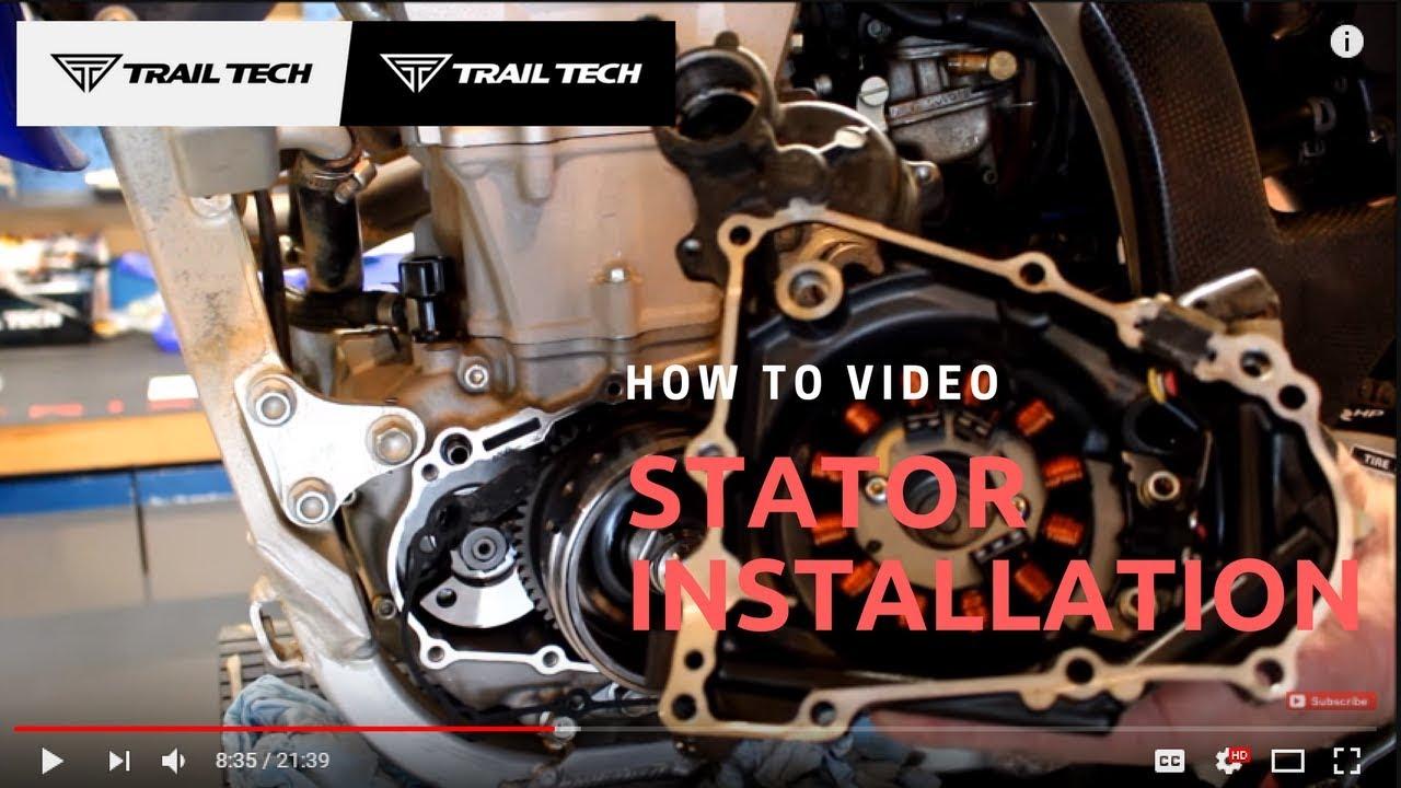 how to install a trail tech stator regulator rectifier kit [ 1280 x 720 Pixel ]