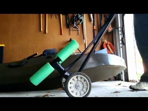 Homemade Kayak Cart