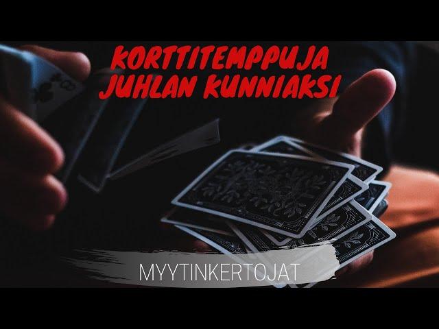Korttitemppuja Juhlan Kunniaksi