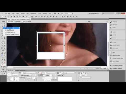 Adobe Fireworks Tutorial on How to Make Scattered Clip Polaroid Photographs On Background