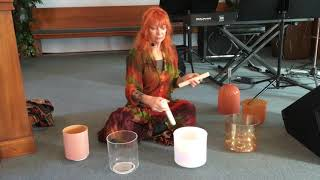 SOUND HEALING EVENT with Crystal Sound Weaver/Bowl Master, BELOVED