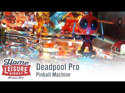 Deadpool Pro Pinball Machine (STERN 2018)