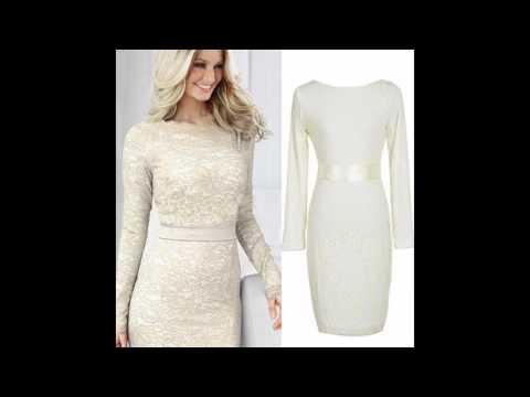 Las últimas Tendencias En Moda De Vestido Blanco Elegante
