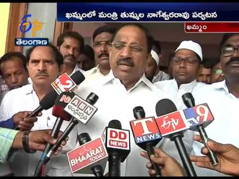 All Problems in Khammam Will be Solved by Next two Years | Minister tummala