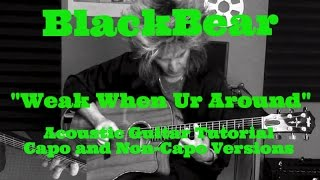 """Weak When Ur Around"" BlackBear - Acoustic Guitar Tutorial Mp3"