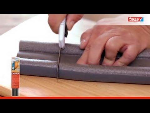 tesamoll doorto floor double roll youtube. Black Bedroom Furniture Sets. Home Design Ideas