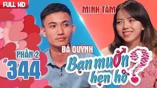 The beauty denied to date with the man who love eating dog meat|Ba Quynh-Minh Tam |BMHH 344
